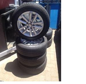 Vw polo vivo 14inch mags