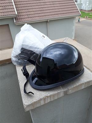 2 PissPot motorcycle helmets for sale, size Medium