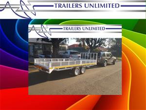 5000 X 2200 TRAILERS UNLIMITED FLATBED TRAILERS.