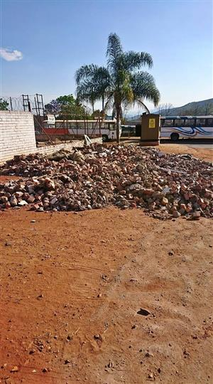 Building Rubble for filling