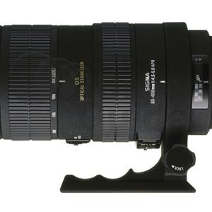 Sigma 80-400mm Canon mount dual axis stabilization Telephoto Lens