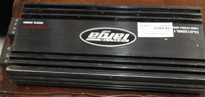 S035651A Targa mono black amp 12000w #Rosettenvillepawnshop