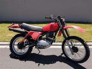 1979 Honda XR