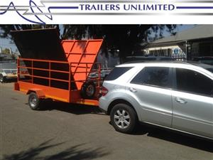 TRAILERS UNLIMITED. UTILITY SINGLE BRAKED AXLE.