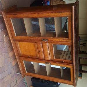 antique display cabinet bargain