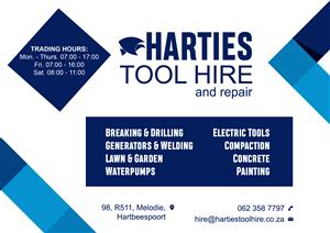 Harties Tool Hire