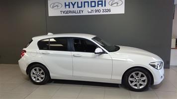 2014 BMW 1 Series 118i 5 door auto