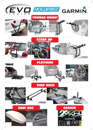 We got a wide range of bike racks available. towbar and non towbar mount.