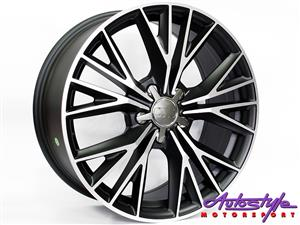 18 inch CT1205 5-112 Matt Black Wheels
