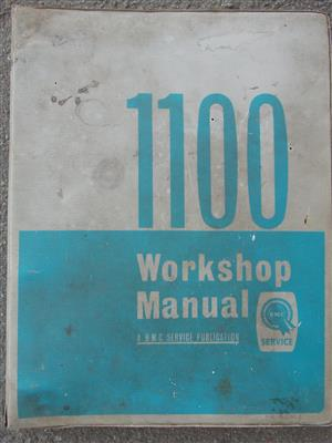 Vintage Austin 1100 Workshop Manual