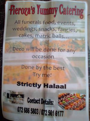 Events and catering