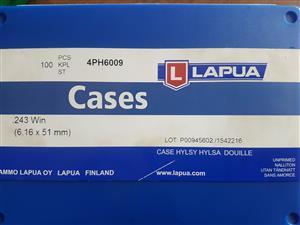 Lapua 243 cases ×100