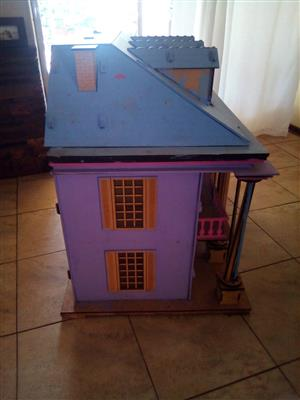 huge wooden doll house