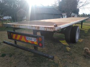 44 Foot single axle trailer