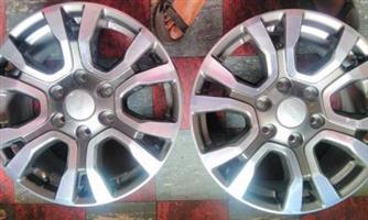 New FORD WILDTRAK  18 inch Mags and Tyres 265/60/R18 Continentals {set of 4} for R10,000.