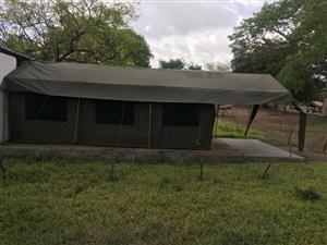 2 x Used Grand Sahara tents (Tentco)