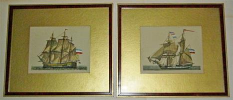 Old Ship Prints