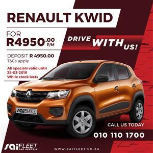 2019 Renault Kwid 1.0 Dynamique