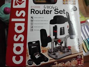 Casals router set for sale