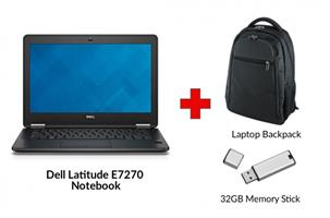 Refurbished DELL LATITUDE E7270 Core i5 Notebook
