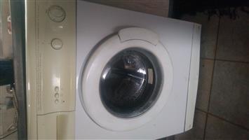 Defy front loader washing machine white