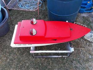 Red bait boat for sale