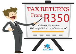 Income Tax Returns just R350