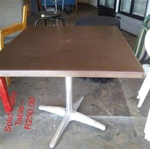 Solid Patio table for sale