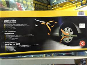 Car Security Wheel Clamp, brand new, solution to parking in no parking areas