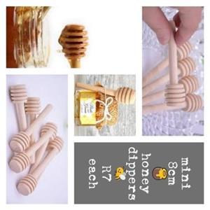 mini honey dippers