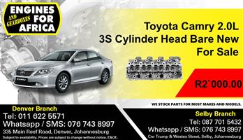 Toyota Camry 2.0L 3s Cylinder Head bare New For Sale