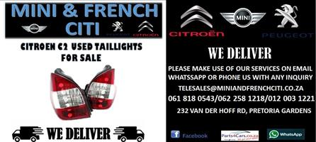 CITROEN C2 USED TAILLIGHTS FOR SALE
