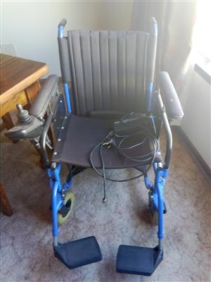 Battery charged wheelchair