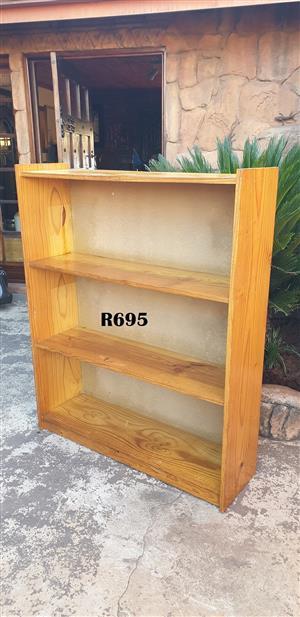 3 Tier Pine Bookrack (1040x295x1265)