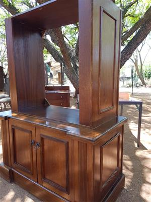 Wooden tv cupboard for sale