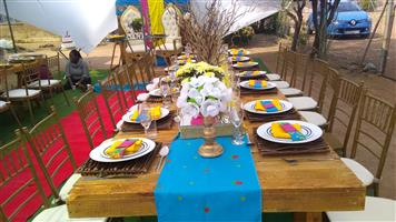Décor and catering
