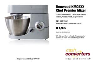 Kenwood KMC5XX Chef Premier Mixer
