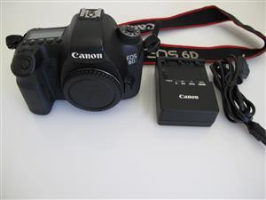 Canon EOS 6D FULL FRAME Body