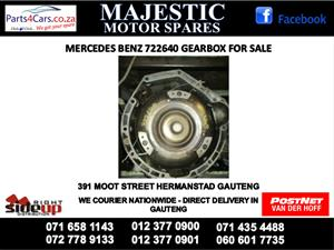 Mercedes benz 640 gearbox for sale