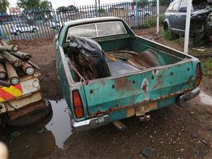 Stripping Chevrolet El Camino for spares