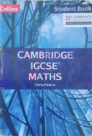Cambridge IGCSE Maths – Student Book for sale  Roodepoort