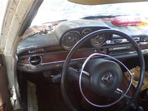W108 series 280s 1968 model LHD 4spd Manual