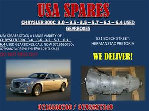 CHRYSLER 300C MK1 3.5 – 5.7 – 6.1 USED GEARBOXES FOR SALE