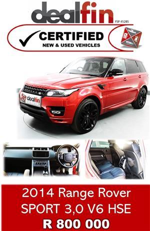 2014 Land Rover Range Rover Sport RANGE ROVER SPORT 3.0 HSE (250KW)