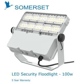 Somerset LED Security Floodlight 100w