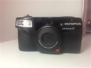 Olympus Superzoom 70 Vintage Camera
