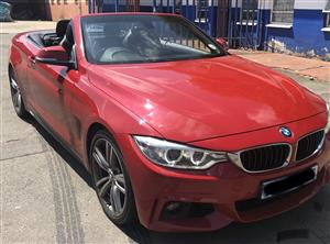 2014 BMW 4 Series 428i convertible M Sport auto