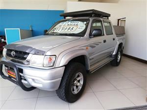 2002 Toyota Hilux 2.7 double cab Raider