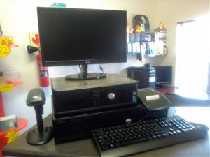 POINT OF SALE COMPLETE PC SET ON SALE@ R5600