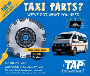 NEW Parts for Nissan Impendulo - FLYWHEEL - Taxi Auto Parts - TAP